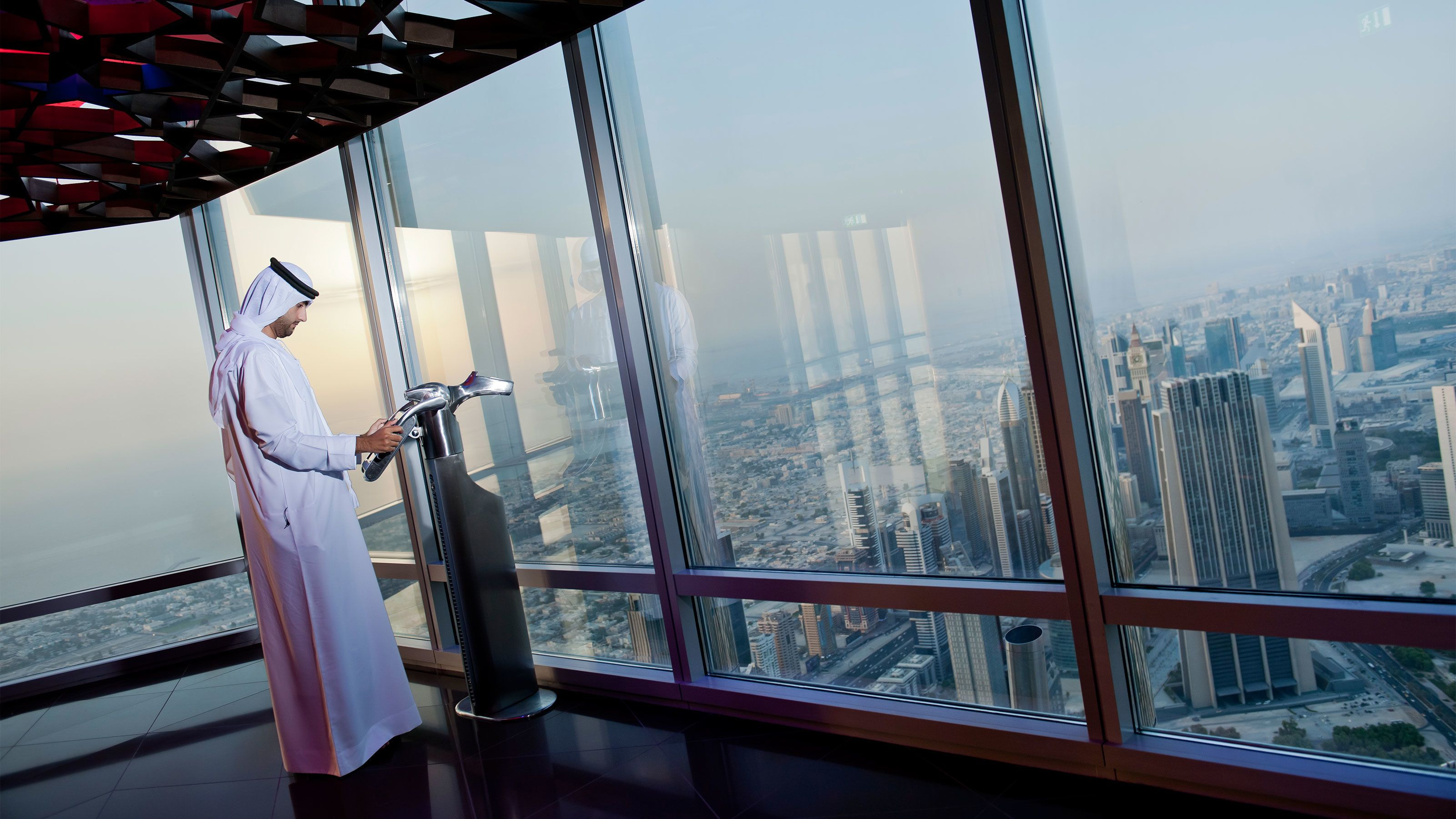 Biljett till Burj Khalifa SKY Lounge, 148:e våningen
