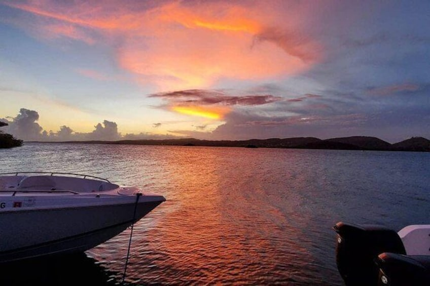 Show item 2 of 9. Sunset and Bio Bay La Parguera