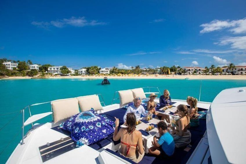 Show item 10 of 10. Full Day Cruise in Private Catamaran with 4-course Gourmet Lunch