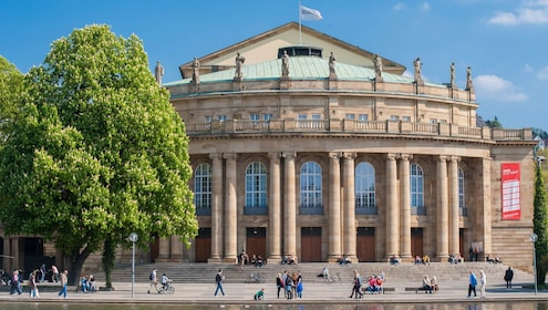 Architectural Walk of Stuttgart with a Local