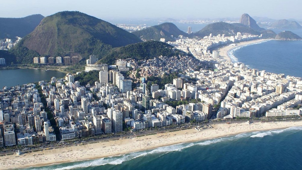 City of Rio de Janeiro from the air