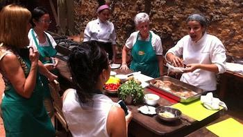 Aula de culinária brasileira