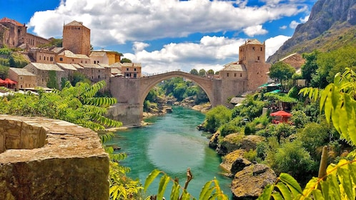View of the Stari Most in Mostar