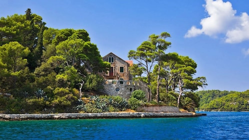 Old building on Mljet island