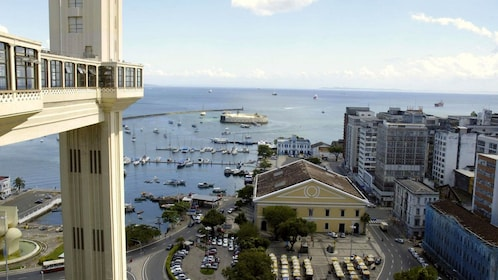 View from the Lacerda Elevator looking down at the city of Salvador