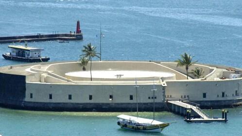 São Marcelo Fort in Salvador