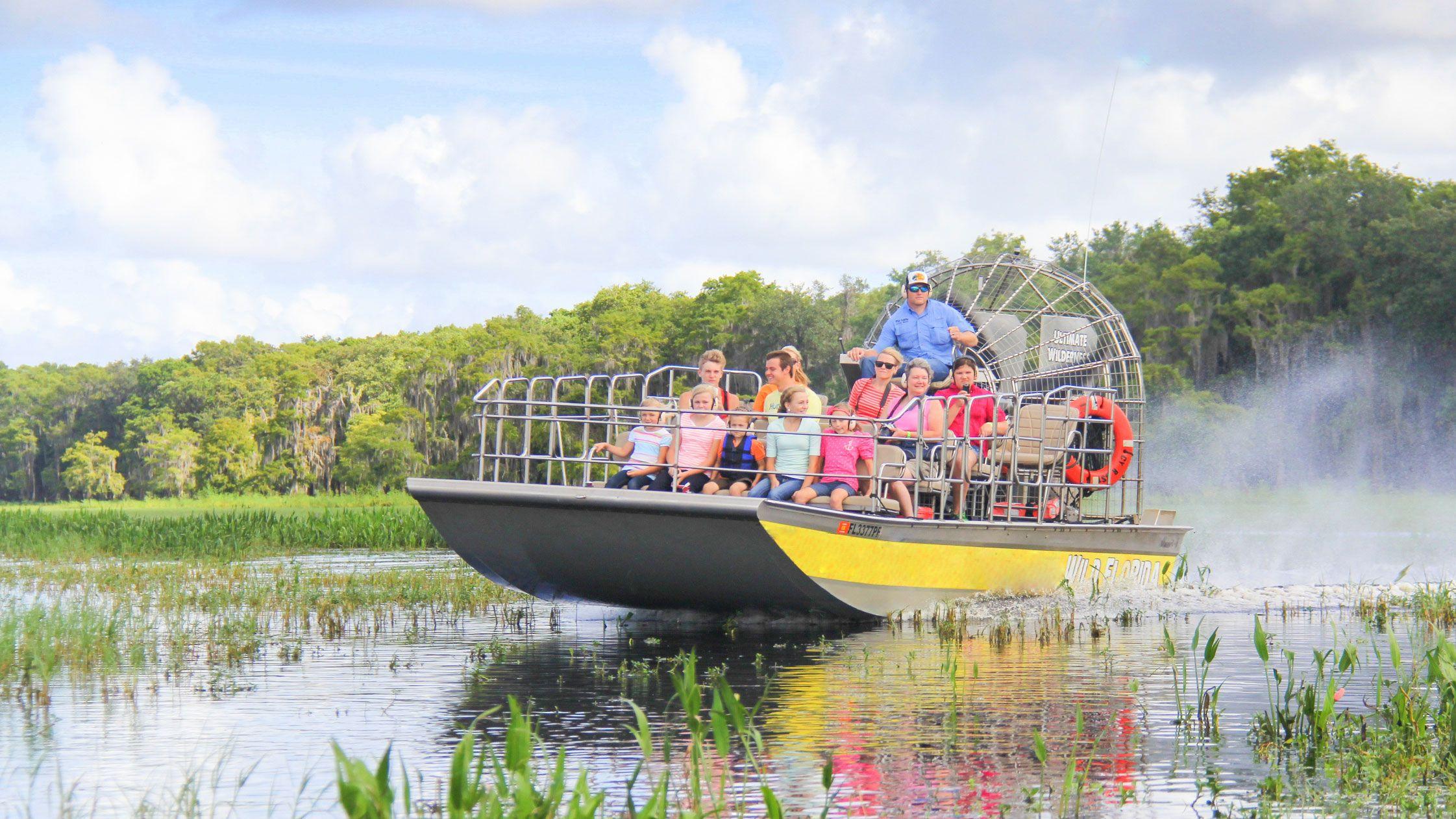 Sortie en hydroglisseur dans la Floride sauvage - 30 minutes