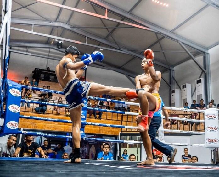Show item 1 of 10. VIP Ticket to William Muay Thai Boxing Stadium in Ao Nang
