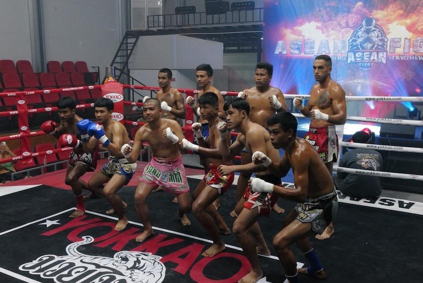 Show item 10 of 10. VIP Ticket to William Muay Thai Boxing Stadium in Ao Nang