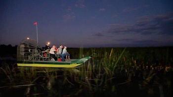 Night-time Wild Florida Airboat Ride