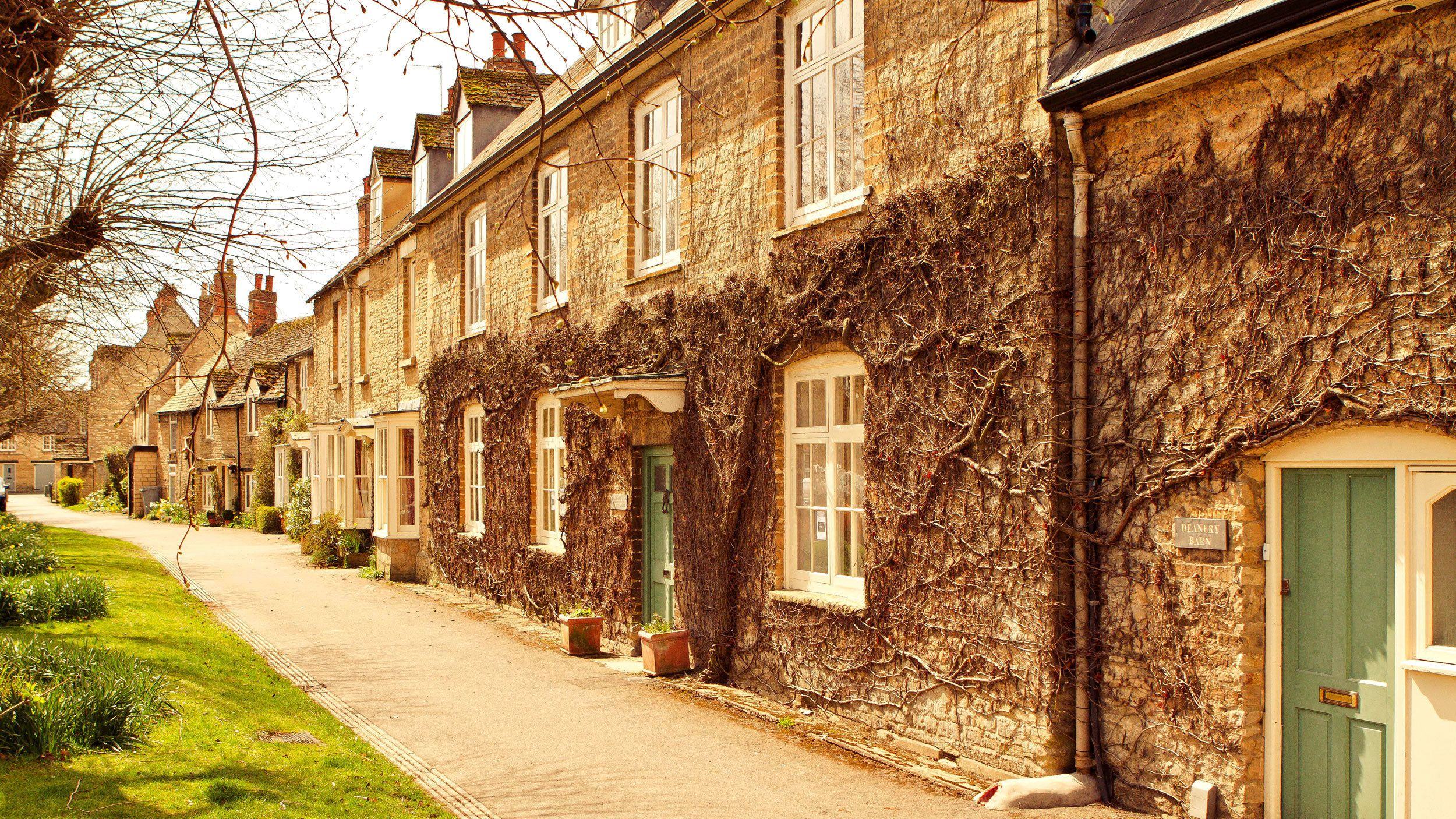 Bampton in the Oxfordshire Cotswolds