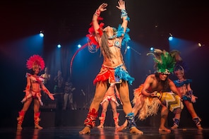 Braziliaanse Ginga Tropical-dansshow