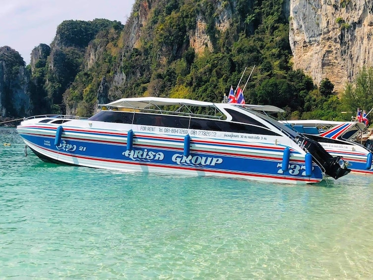 Show item 1 of 5. Koh Phi Phi to Railay Beach by Arisa Speed Boat Group