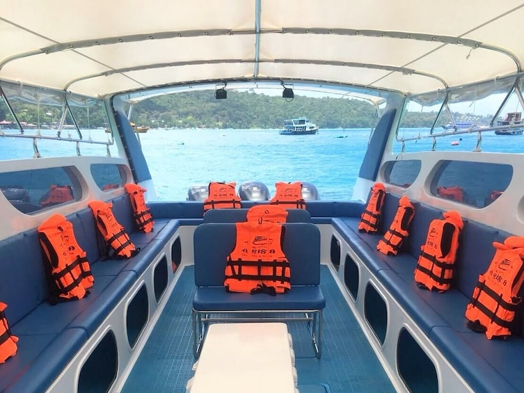 Show item 5 of 5. Koh Phi Phi to Railay Beach by Arisa Speed Boat Group