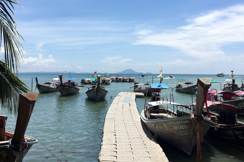 Show item 3 of 5. Koh Phi Phi to Railay Beach by Arisa Speed Boat Group