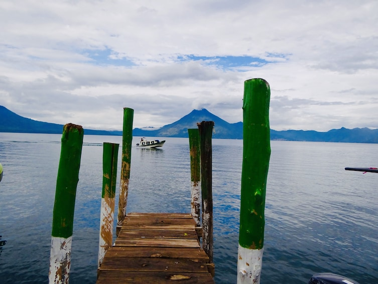 Show item 1 of 7. Atitlán Lake & Locals from Panajachel