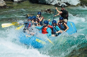 Full Day Glacier National Park Whitewater Rafting Adventure - With Lunch!