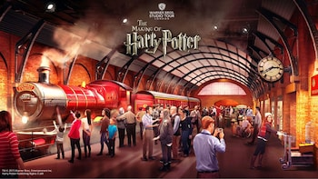 Harry Potter Warner Bros. Tour degli studi