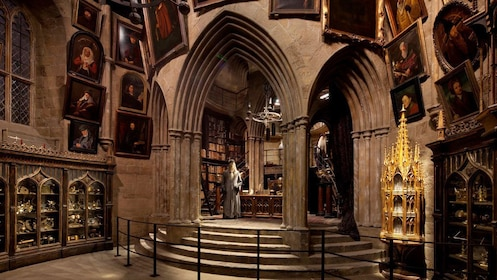 set of Harry Potter movie in London