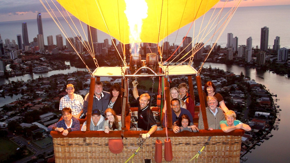 Show item 3 of 6. Lift off on the Gold Coast Balloon Ride with Champagne Breakfast in Australia