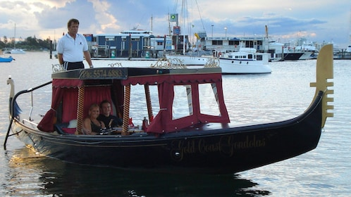 People on the Gold Coast Private Gondola Cruise in Australia