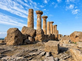 Full day Agrigento and Piazza Armerina tour from Taormina