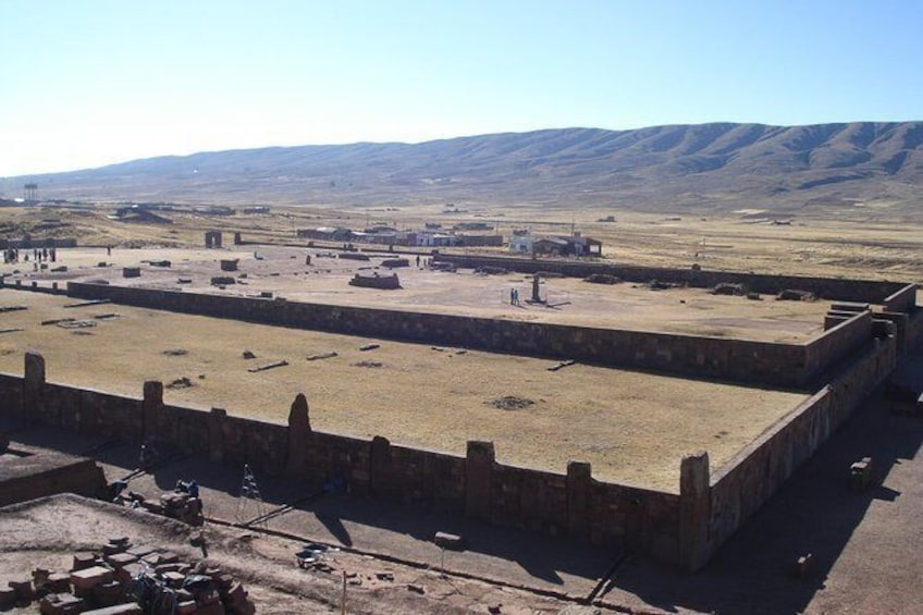 Show item 3 of 4. TIWANAKU - The cradle of andean civilizations