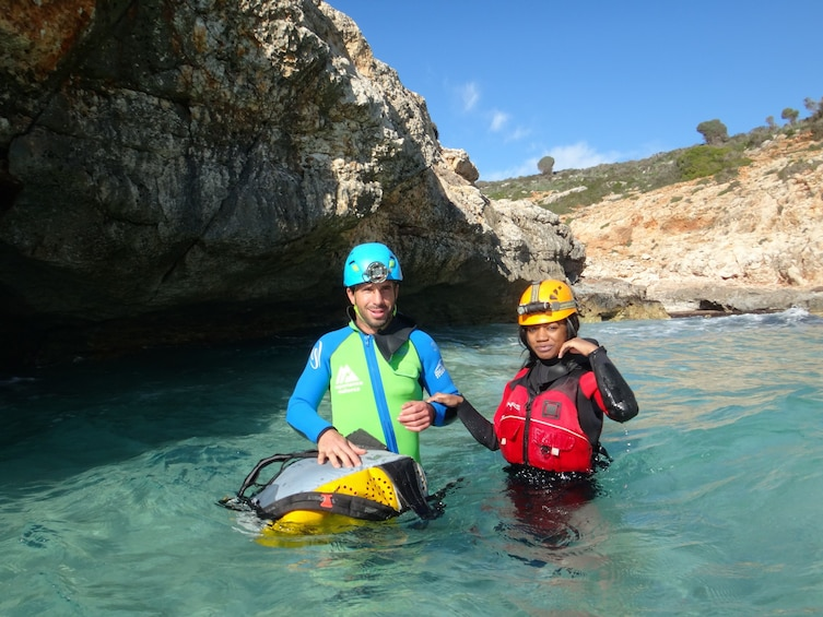 Show item 10 of 10. Sea Caving Adventure