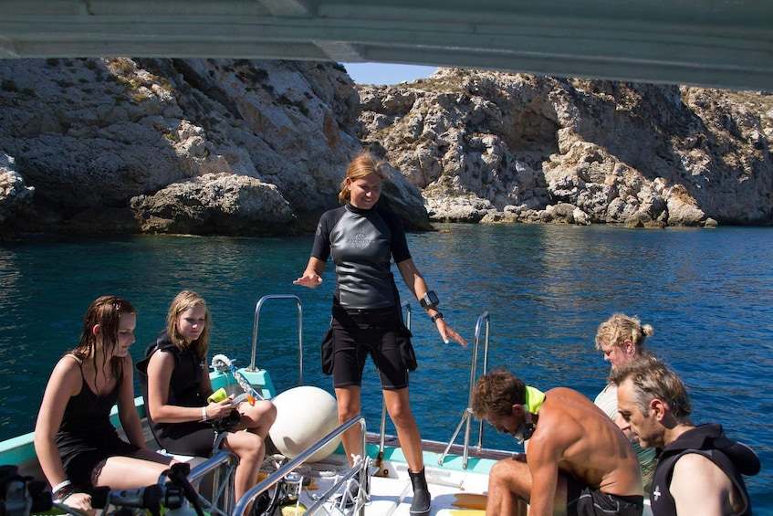 Boat Tour & Snorkeling in Malgrats Island