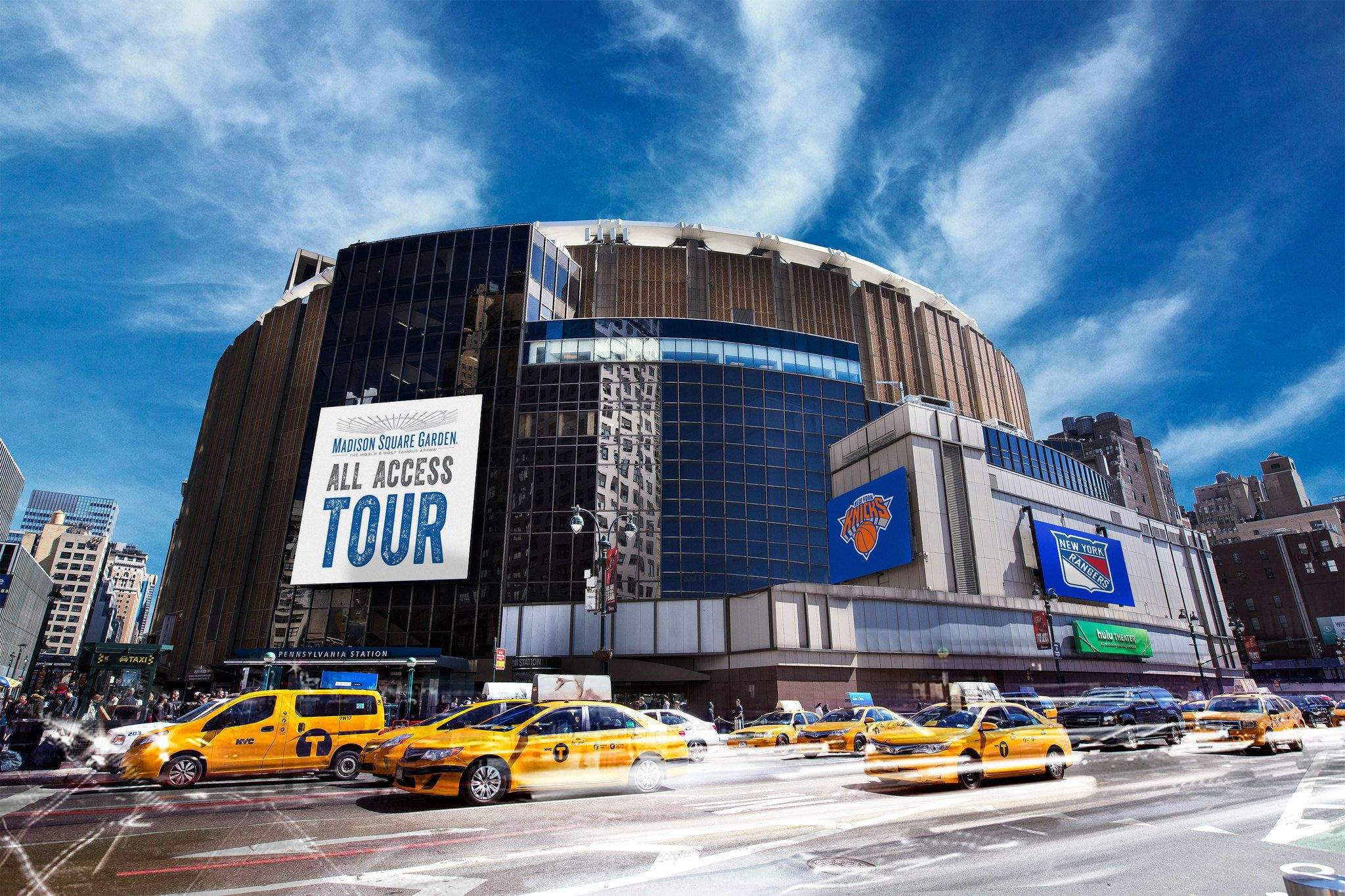 Madison Square Garden All-Access Tour