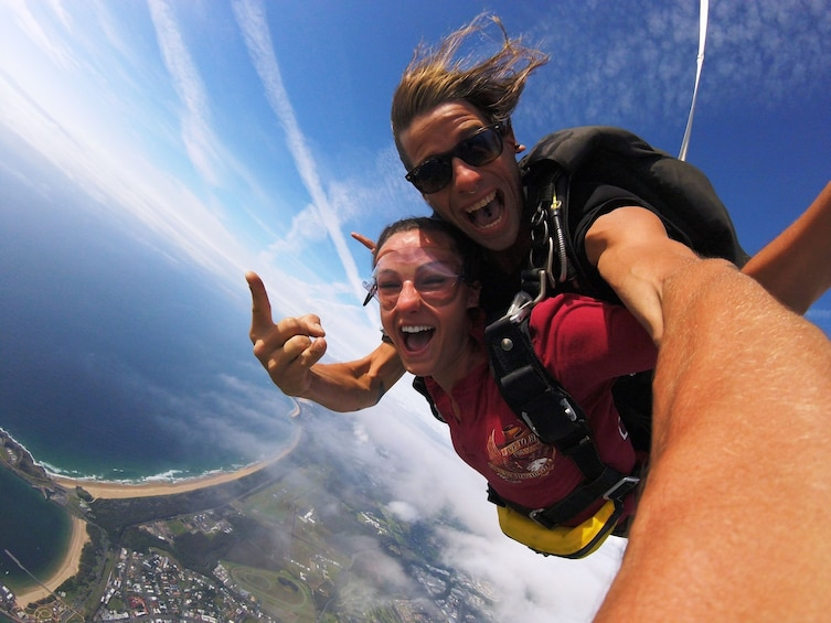 Show item 1 of 8. Max Freefall Skydive Over Coffs Harbour