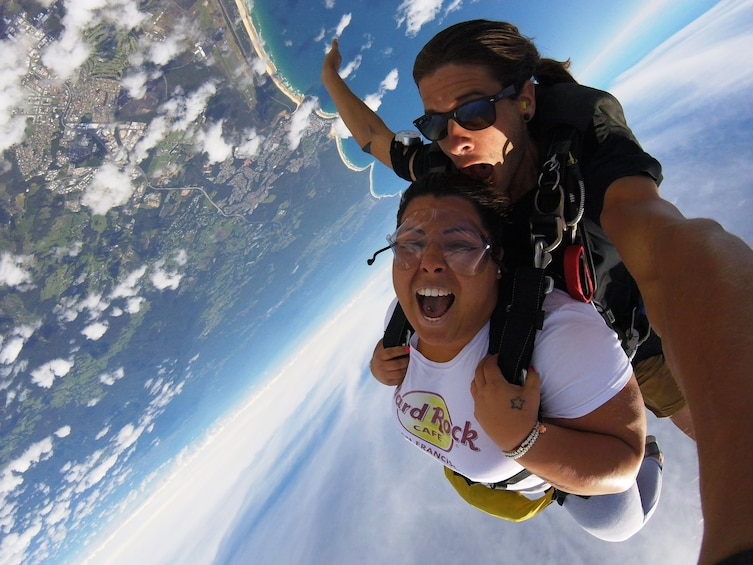Show item 2 of 8. Max Freefall Skydive Over Coffs Harbour