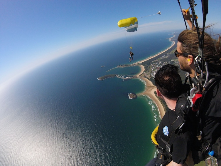 Show item 8 of 8. Max Freefall Skydive Over Coffs Harbour