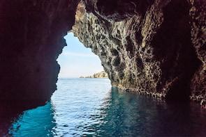 Taormina sea experience by typical boat from Giardini Naxos