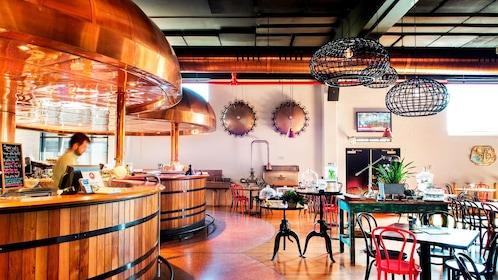 View inside XXXX Brewery restaurant in Brisbane