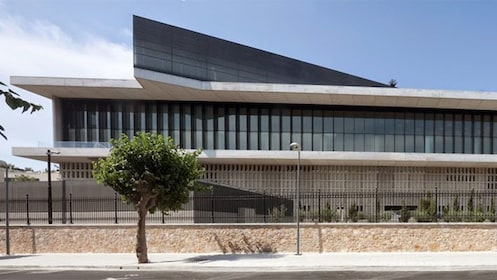 View of the Acropolis Museum in Athens
