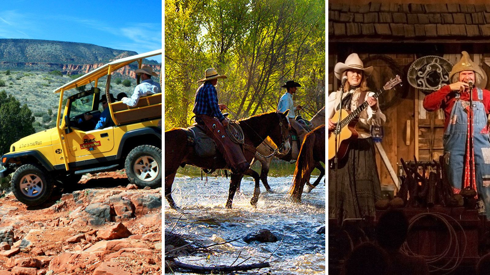 Jeep Tour, Horseback Ride & Lunch, Dinner, or Wine Tasting