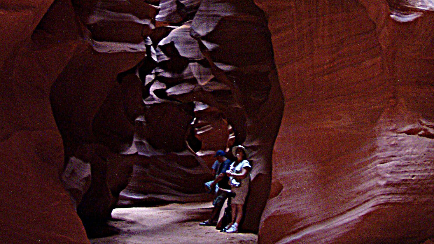 Tour the stunning curved walls of Antelope Canyon