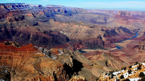 Aerial view of the Grand Canyon South Rim