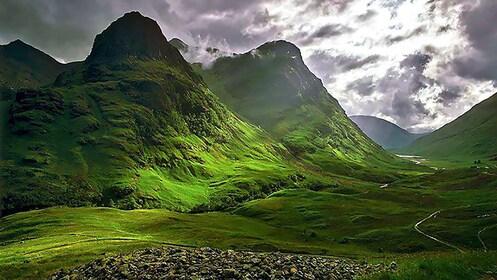 Mountain view in Edinburgh
