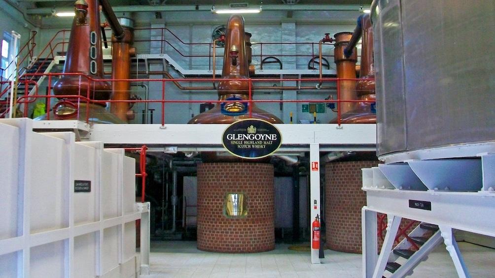 whiskey distillery in Edinburgh