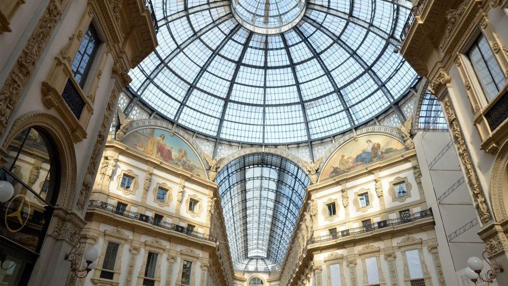 Building interior in Milan