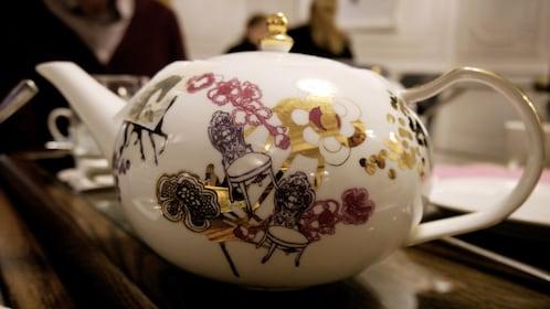 porcelain tea pot in London