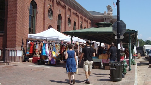 Visiting the Eastern Market in Washington DC