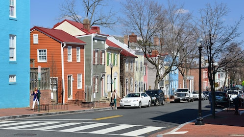 Charming residential area in Washington DC