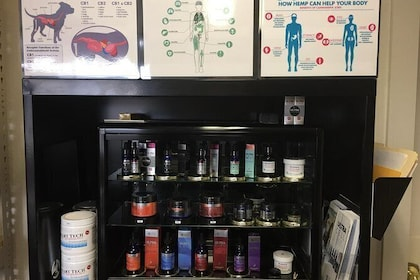 Several brands of CBD/CBG to choose from