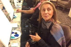 Painting Class to Create a Ski Trip Momento