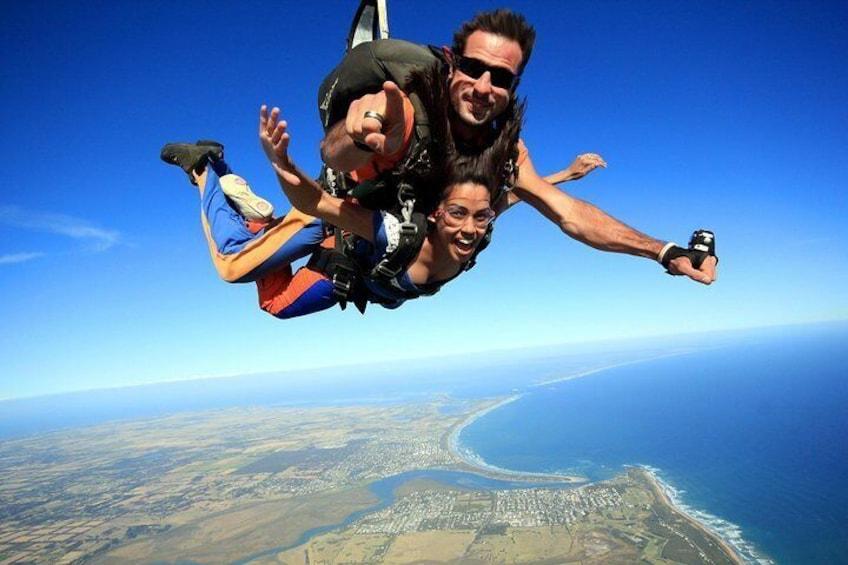 free fall Great Ocean Road