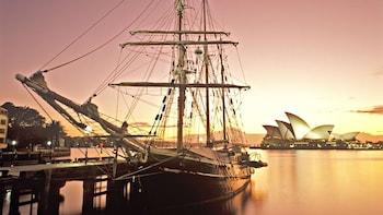 Sydney Harbour Tall Ship Twilight Dinner Cruise