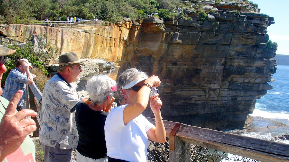 Show item 6 of 6. Photographers taking pictures of Sydney landscapes